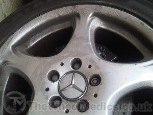 002. Mercedes S Class- Before Powder Coating