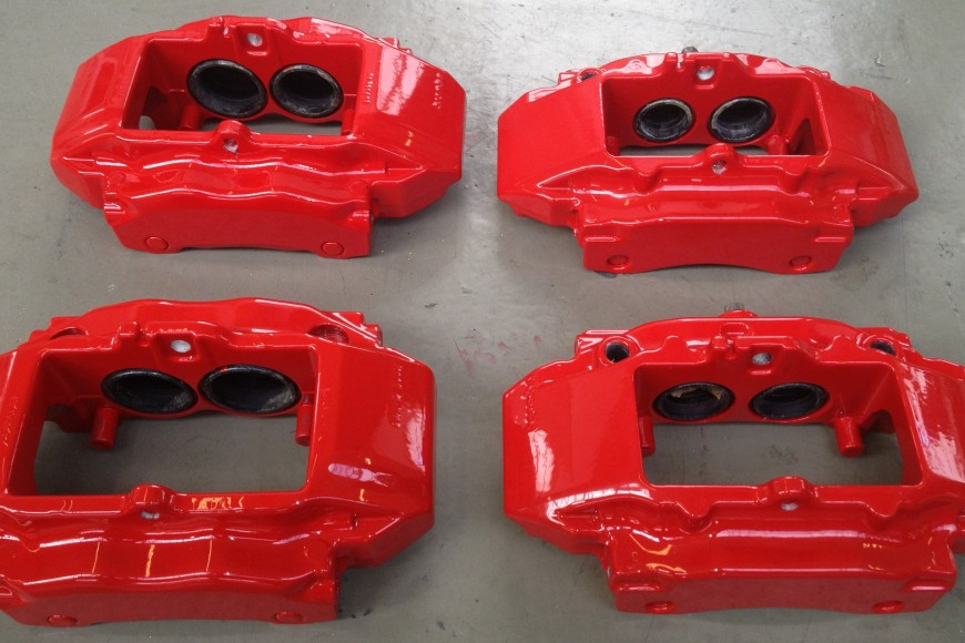 Brembo Brake Callipers- Powder Coated (Red)