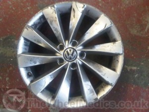 001. Before Alloy Wheel Refurbishment.