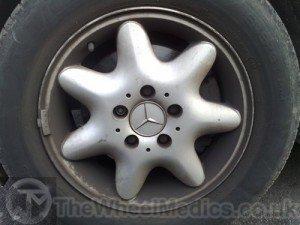 001. Mercedes C Class. Before Full Refurbishment