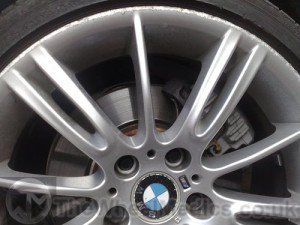 002. BMW MV3 Alloys- Before Refurbishment
