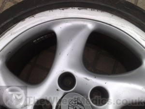 002. Before Alloy Wheel Refurbishment