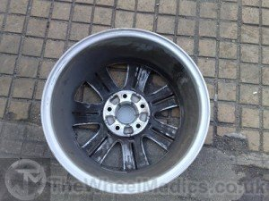 003. BMW Buckled & Bent Alloy Repairs. After Alloy Wheel Straightening