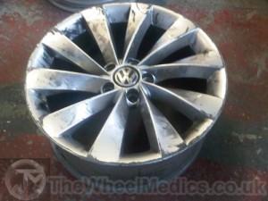 003. Before Alloy Wheel Refurbishment