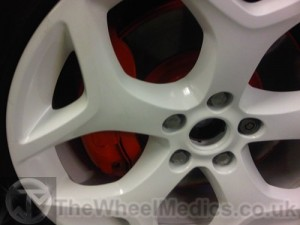 003. Calipers painted in Reb