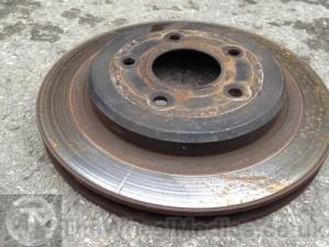 003. Corvette Brake Disks- Before Cleaning. Sandblasting