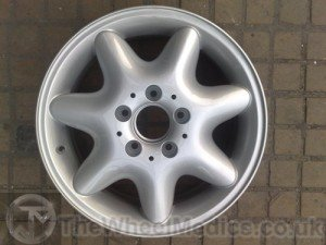 004. After- Full Alloy Wheel Refurbishment- Powder Coated back to Original Colour