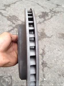 004. Corvette Brake Disks- After Cleaning. Sandblasted