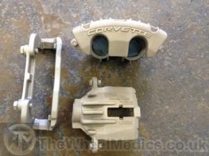 004. Corvette Calliper-After Sandblasting