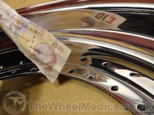 005. AMG Split into 3 piece's. Dish Re-polished- Mirror Finish