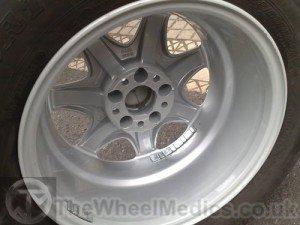005. After- Full Alloy Wheel Refurbishment- Fully Powder Coated. Original Colour