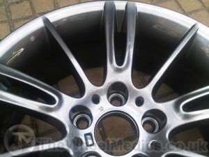 006. BMW MV3 Alloys- Powder Coated into Light Anthracite Grey