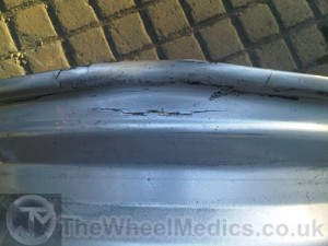 006. Brabus Smart Car. Buckled, Bent & Cracked Alloy. Need Straightening and Welding