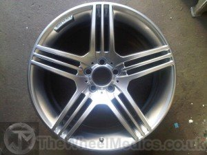 006. Mercedes CLS AMG. After Refurbishment- Fully Powder Coated finish.