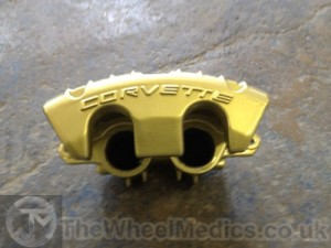 007. Corvette Calliper- Powder Coated- Gold