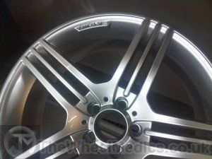 008. Mercedes CLS AMG. After Refurbishment- Fully Powder Coated finish.