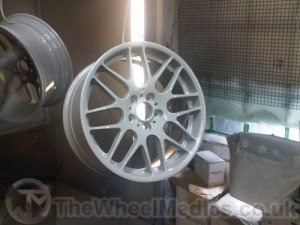 010. Alloy Wheel Fully Repaired, and being Powder Coated.