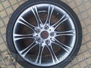011. BMW 3 Series MV2 Alloys. Light Anthracite Silver