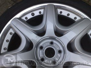 011. Bentley Continental Split Rim. Fully Refurbished, with a Mirror Polished Lip.