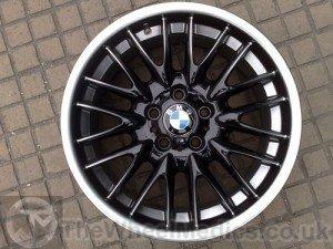 012. BMW MV1 Customised- Black Gloss with Sprayed on Hyper-Silver Polished lip