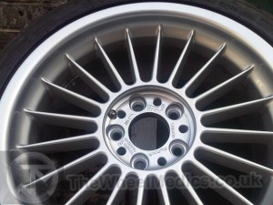 014. Alpina Wheels- Fully Refurbished- back to Original Finish.