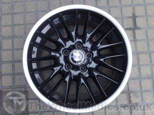 014. BMW MV1 Customised- Black Gloss with a Polished lip