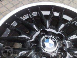 015. BMW MV1 Customised- Black Gloss with a Polished lip.