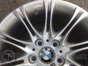 016. BMW 3 Series. BMW MV2 Silver