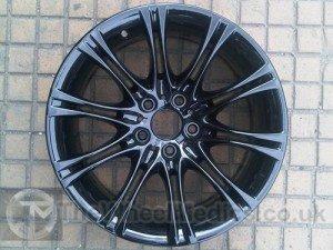 017. BMW 3 Series. BMW MV2 Alloys. Black Gloss
