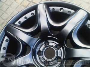 019. Bentley Continental Split Rim. Fully Refurbished- Powder Coated (Satin Matt Black).