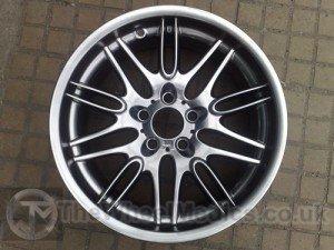 029. BMW 5 Series. Smoked Chrome