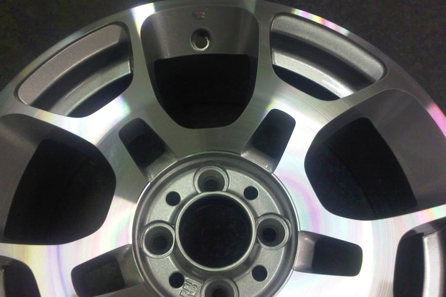 Fiat 500 Powder Coated & Diamond Cut Alloy Wheel Refurbishment
