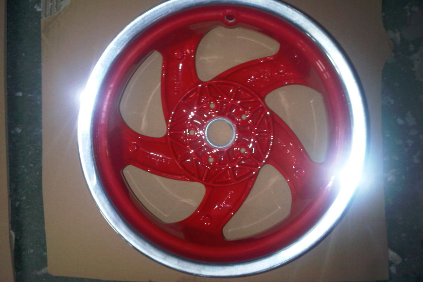 Scooter Wheels – Refurbishing Motorbike & Moped Alloys