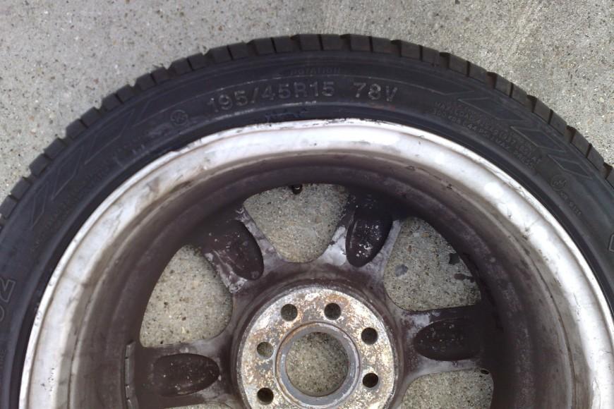 Toyota Buckled & Bent Alloy- Repairing Flat Spots on Rim